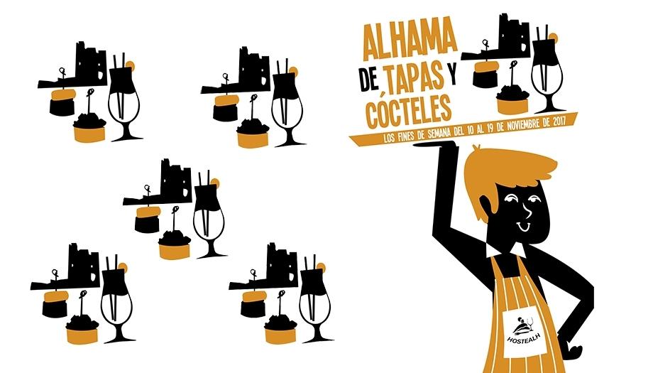 """Disfruta de la tercera edición de """"Alhama de Tapas y Cócteles"""""""