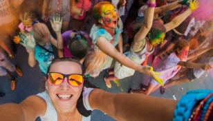 No te pierdas la divertida carrera Holi Run en Murcia
